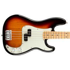 Fender Player Precision Bass Guitar - 3 Tone Sunburst - Thumb