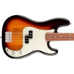 Fender Player Precision Bass Guitar - Pau Ferro - 3-Colour Sunburst - Thumb