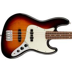 Fender Player PF Jazz Bass Guitar - 3 Colour Sunburst  - Main