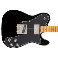 Squier Classic Vibe '70s Telecaster Custom Electric Guitar - Black - Thumb