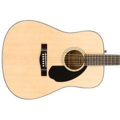 Fender CD-60S Spruce-Top Dreadnought Acoustic - Natural