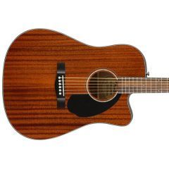 Fender CD-60SCE All-Mahogany Classic Design Electro Acoustic Steel-String Guitar