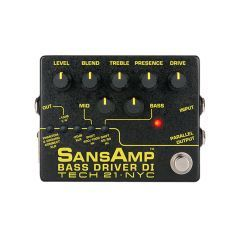 Tech 21 SansAmp Bass Driver DI V2 Pedal