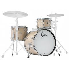 "Gretsch Brooklyn 22"" 3-Piece Drum Shell Pack - Creme Oyster - Main"