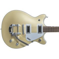 Gretsch G5232T Electromatic Double Jet Electric Guitar With Bigsby Vibrato - Casino Gold - Thumb