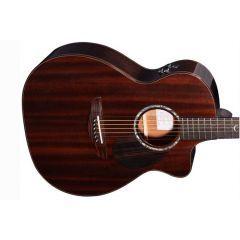 Faith FG5HCE PJE Legacy Dark Roast Earth Cutaway Electro Acoustic Guitar
