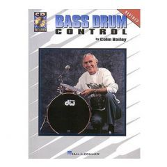 Colin Bailey: Bass Drum Control (Book & CD)