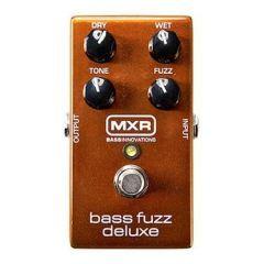 MXR Bass Fuzz Deluxe Effects Pedal