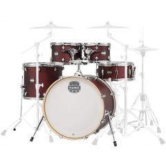 """Mapex Mars Ltd Edition 22"""" 5-Piece Drum Shell Pack Including Snare - Transparent Cherry - Main"""
