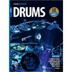 Rockschool Drums Grade 7 2018 Book