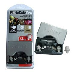 Alpine Music Safe Ear Protection With Case