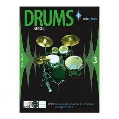 Rockschool Drums Grade 3 2006-2012 (Book)