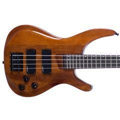 Tanglewood Alpha TE4 Electric Bass - Full Mahogany