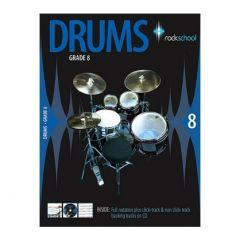 Rockschool Drums Grade 8 2006-2012 (Book)