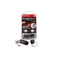 Alpine MusicSafe Classic Ear Protection With Case & 2 x Filters