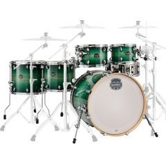 """Mapex Armory 22"""" 6-Piece Short Stack Drum Shell Pack - Emerald Burst - Main"""