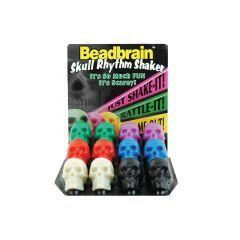 Beadbrain Skull Rhythm Shaker x 1