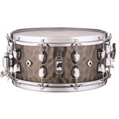 """Mapex Black Panther 'Persuader' 14 x 6.5"""" Hammered Brass Snare Drum - Main"""