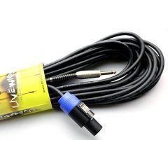 Proel 1/4 Mono Jk-4 Pole Speaker Mount Connector - 15 Metre