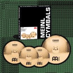 Meinl Cymbals CC141620 Classics Custom Complete Cymbal Set