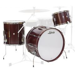 """Ludwig Club Date Downbeat 20"""" 3-Piece Shell Pack - Cherry Satin"""