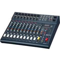Studiomaster Club XS12 Live Mixer - 12 Input With USB/Bluetooth