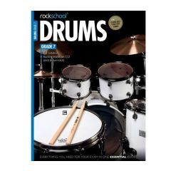 Rockschool Drums Grade 7 2012-2018 (Book)