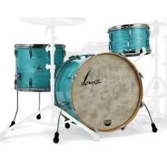 """Sonor Vintage Series 22"""" 3-Piece Shell Pack - California Blue"""