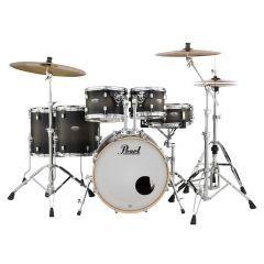 Pearl Decade Maple 6-Piece Drum Kit Including Hardware - Satin Black Burst