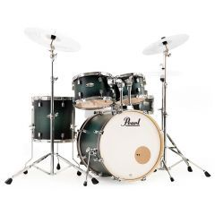 Pearl Decade Maple 5-Piece Drum Kit Including Hardware - Deep Forest Burst