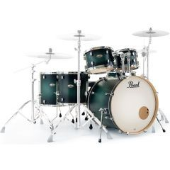 """Pearl Decade Maple 22"""" 6-Piece Drum Shell Pack - Deep Forest Burst - Main"""