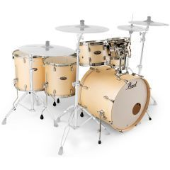 """Pearl Decade Maple 22"""" 6-Piece Drum Shell Pack - Satin Gold Meringue - Main"""