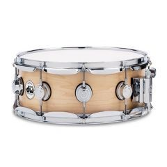 """DW Collector's Series Maple 13 x 6"""" Snare Drum - Natural Satin Oil"""