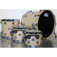 DW Collectors Pure Maple Natural Satin Finish Shell Pack