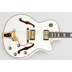 Pre-Owned Epiphone Ltd Ed. 2012 Emperor Swingster Royale Archtop Electric Guitar - Pearl White