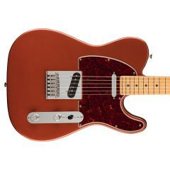 Fender Player Plus Telecaster Electric Guitar - Maple Fingerboard - Aged Candy Apple Red - 1