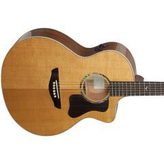 Faith PJE Legacy Neptune Mahogany Electro-Acoustic Guitar - FG1NCE