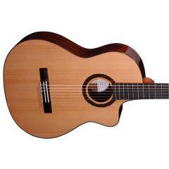 Faith Lyra Nylon String Electro Acoustic Guitar & Bag - FLCEHG