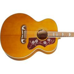 Epiphone J-200 Electro Acoustic Guitar - Aged Natural Antique Gloss - Main