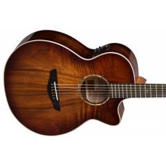 Faith FVBMB Venus Blood Moon Electro Acoustic Guitar - Thumb