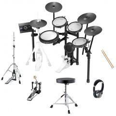 Roland TD-17KVX Electronic Drum Kit Bundle - Sticks
