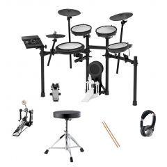 Roland TD-17KV Electronic Drum Kit Bundle - Sticks