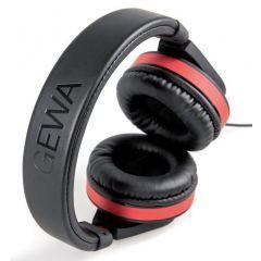 Gewa HP SIX Black/Red Closed Headphones