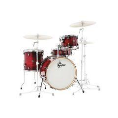 """Gretsch Catalina Club Jazz 20"""" 4-Piece Shell Pack - Gloss Crimson Burst"""