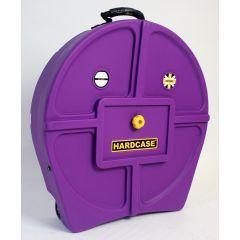 "Hardcase HNP9CYM22PU 22"" Cymbal Trolley - Purple"