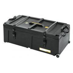 "Hardcase 36"" x 18"" x 12"" Drum Hardware Case With Wheels"