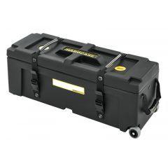 """Hardcase 28"""" x 10"""" x 10"""" Hardware Case With Wheels"""