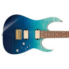 Ibanez RG421HPFM-BRG RG Series Electric Guitar - Blue Reef Gradation - Thumb