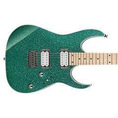 Ibanez RG421MSP-TSP RG Series Electric Guitar - Turquoise Sparkle - Thumb