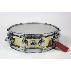 """DW Collector's Series 14 x 4"""" Bell Brass Snare Drum"""